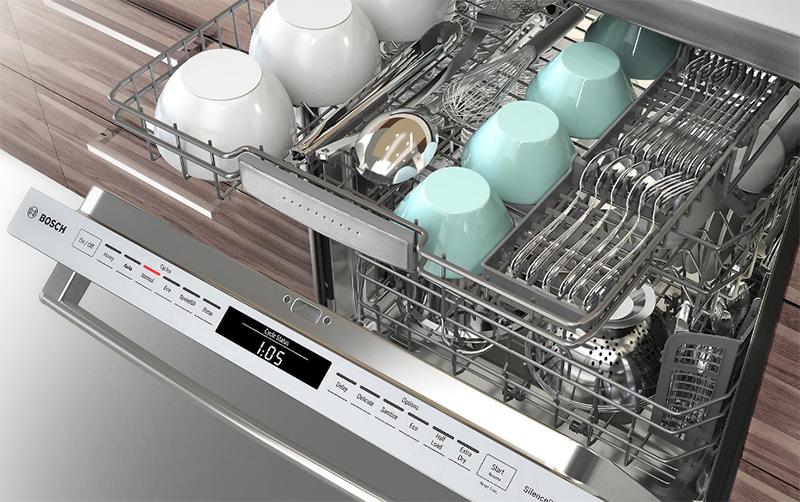 Máy rửa bát Bosch an toàn, hiệu quả và sang trọng