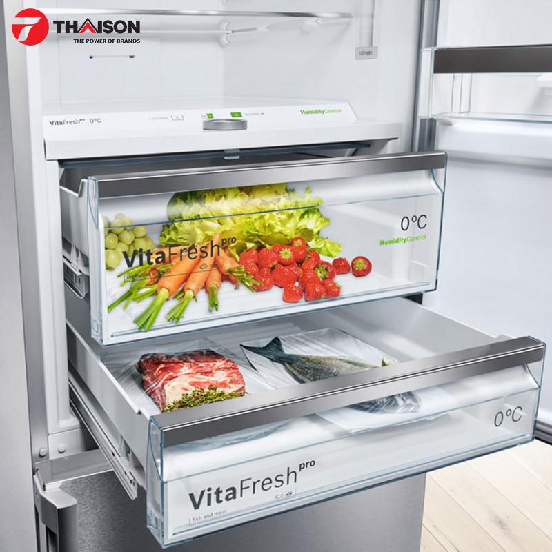 Tủ lạnh Bosch sang trọng cho nhà bếp