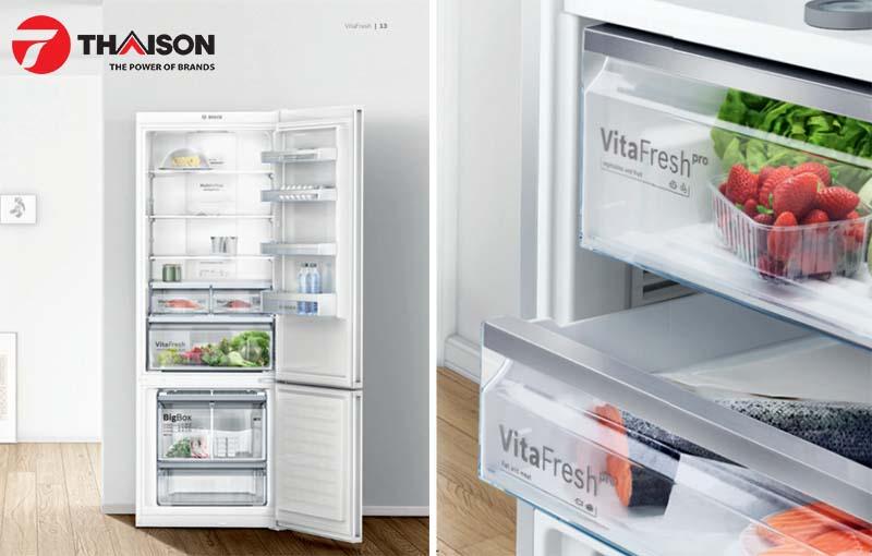 Tủ lạnh Bosch series 8 chứ cả thế giới đồ ăn