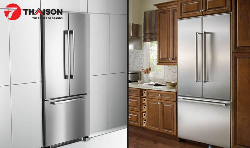 Tủ lạnh kiểu cửa Pháp được ưa chuộng