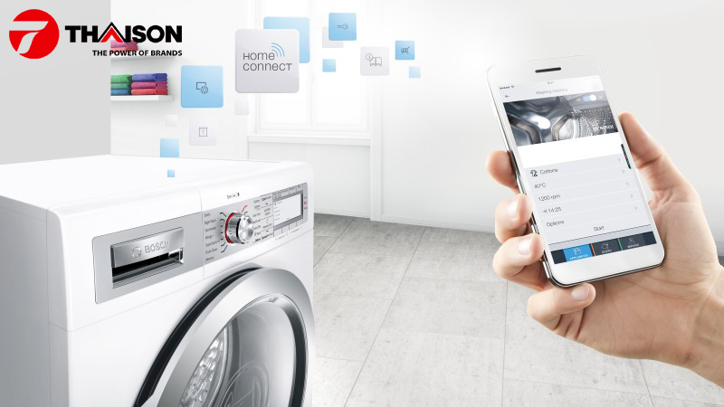 Ứng dụng Home Connect của Bosch
