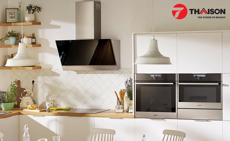 Trả lại bầu không khí mát mẻ cho nhà bếp với máy hút mùi
