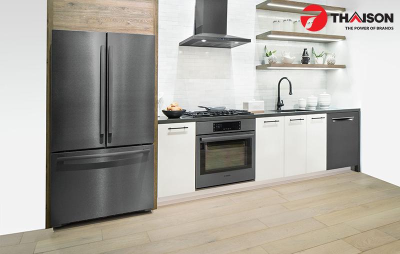 Phong cách là yếu tố đầu tiên thiết bị bếp cao cấp đem lại