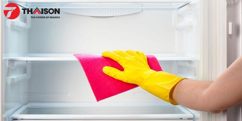 Thường xuyên vệ sinh tủ lạnh đúng cách