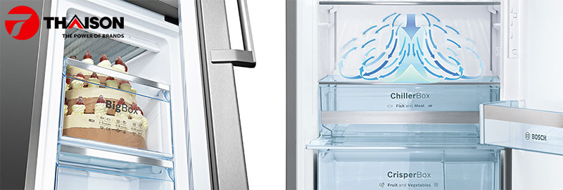 Mua tủ lạnh tiết kiệm điện chọn Bosch