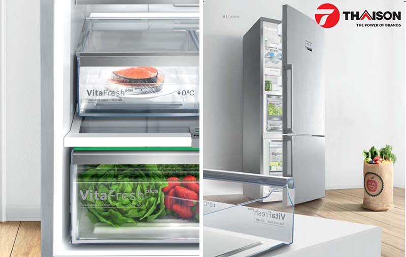 Với tủ lạnh Bosch bạn sẽ có những trải nghiệm thú vị