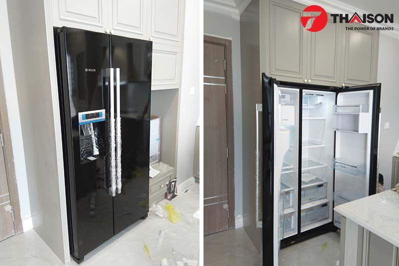 Tủ lạnh Bosch tại nhà khách hàng