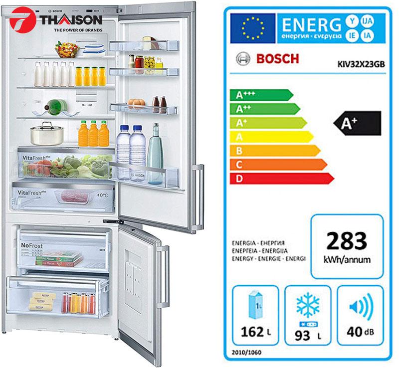 Tủ lạnh Bosch tiết kiệm tiền tối ưu