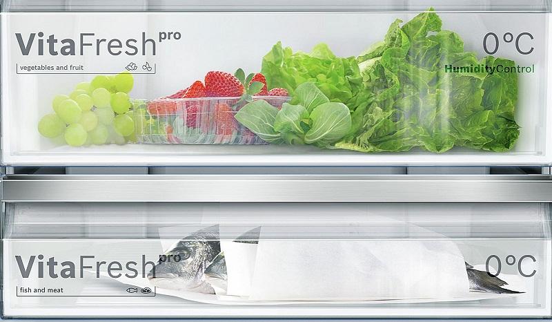 Vitafresh tủ lạnh bosch
