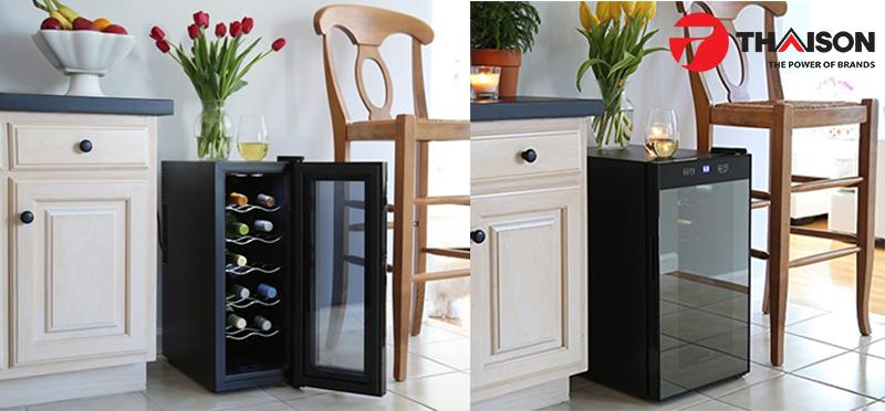 Lựa chọn loại tủ rượu phù hợp với mục đích dùng